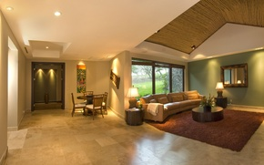 Picture design, house, style, Villa, interior, living space, hasienda, Casa Caiman In Costa Rica