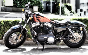 Picture design, background, motorcycle, Harley Davidson, Iron 833