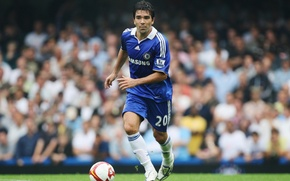 Picture Anderson Luís de Souza, Deco, the ball, Chelsea, player, Chelsea, player, Deco