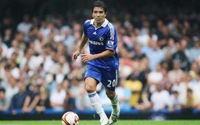 Picture the ball, player, player, Chelsea, Chelsea, Deco, Anderson Luís de Souza, Deco