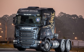 Picture tractor, Scania, R480, Griffin Edition