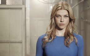 Picture girl, hairstyle, blonde, the series, TV Series, Adrianne Palicki, Adrienne Paliki, jumper, Agents of Shield, ...