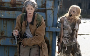 Picture the situation, The Walking Dead, The walking dead, Carol, Melissa McBride, Season 6