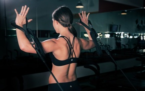 Picture women, workout, gym