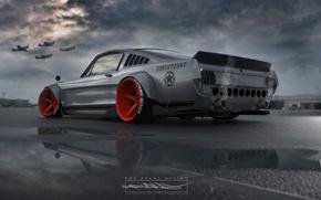Picture Mustang, Auto, Machine, Car, Roben Evans Design