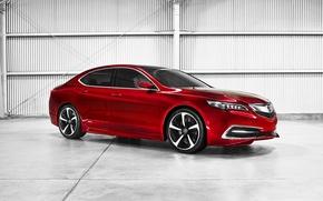 Picture Concept, Acura, 2014, TLX