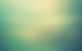 Picture background, haze, light, green, turquoise