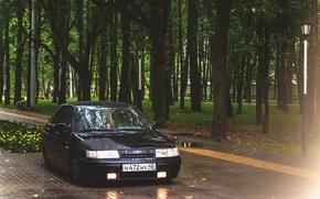 Picture machine, auto, Park, Lada, auto, 2112, VAZ