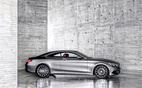 Picture car, coupe, Mercedes-Benz, mercedes, Mercedes, S-Class Coupe