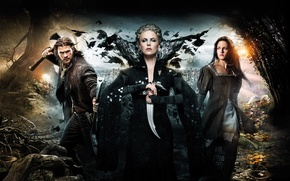 Picture Charlize Theron, Kristen Stewart, Kristen Stewart, Charlize Theron, Snow White and the Huntsman, Snow white …