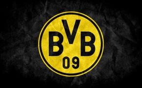 Picture Football, Logo, Dortmund, Borussia, Borussia, Dortmund