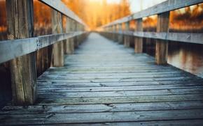 Picture bridge, river, background