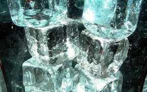 Picture cold, ice, cubes