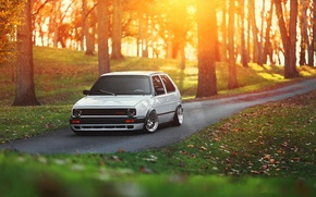 Picture car, volkswagen, golf, tuning, gti, stance