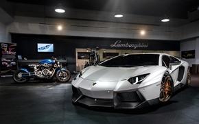 Picture car, tuning, tuning, LP700-4, rechange, Lamborghini Aventador, Novitec Torado
