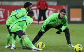 Picture Cristiano Ronaldo, training, Portugal
