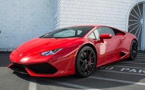 Picture Red, Lamborghini, Tuning, Vorsteiner, Huracan