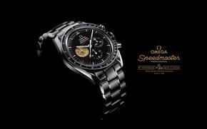 Picture watch, 1969, OMEGA, speedmaster Professional, moon landing watch