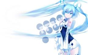 Picture headphones, Vocaloid, Hatsune miku, vokaloid, Hatsune Miku