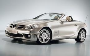 Picture convertible, Mercedes-Benz, SLK 320
