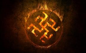 Picture symbol, Russia, Semantics, The Fern flower/ Overcoming-grass
