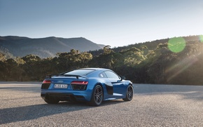 Picture machine, the sky, Audi, supercar, V10, More