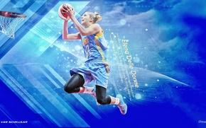 Picture basketball, chcago sky, WNBA, elena delle donn