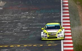 Picture Chevrolet, Cruze, WTCC, The curb, Hugo Valente
