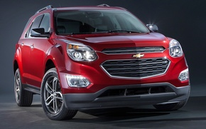 Picture Chevrolet, Red, LTZ, Crossover, Equinox, 2016