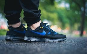 Picture style, feet, Wood, sneakers, Nike, Nike, Lunar Wood