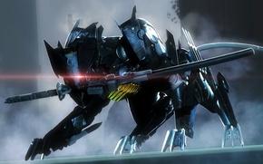Picture sword, DLC, Blade Wolf, LQ-84i, Maverick, Metal Gear Rising:Revengeance, Armor Breaker