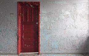 Picture room, wall, the door