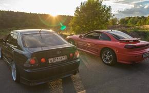 Picture car, lexus, summer, dodge, sun, is2000