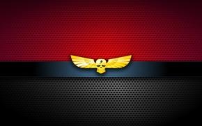 Picture cinema, sake, red, logo, game, black, hat, lightning, wings, movie, evil, film, martial artist, Street …