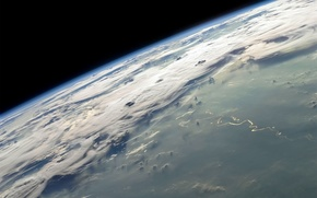 Picture space, earth, orbit