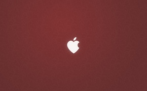 Picture heart, apple, logo