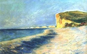 Wallpaper Claude Monet, picture, Pourville. Near Dieppe, seascape