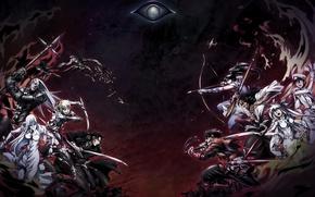Picture wallpaper, battlefield, game, seal, war, anime, man, american, dragon, eye, samurai, hero, asian, bow, manga, …