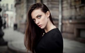 Picture portrait, bokeh, Kate, Maxim Guselnikov, Ekaterina Mozhina