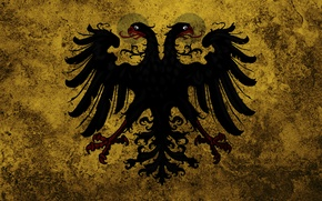 Picture Wallpaper, flag, eagle, Russia, coat of arms, The Russian Empire