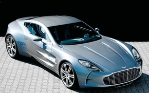 Picture machine, Aston Martin, supercar, One-77
