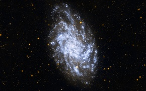 Picture space, galaxy, slink