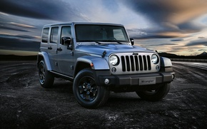 Picture jeep, Wrangler, Jeep, Unlimited, 2015, Wrangler, Black Edition II