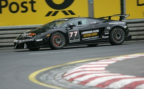 Wallpaper track, Gallardo LP560, Lamborghini, race