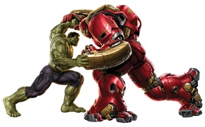 Picture Hulk, power, fight, Hulkbuster