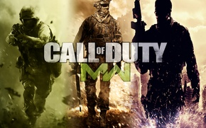 Picture war, soldiers, call of duty, modern warfare