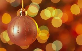 Wallpaper lights, decoration, holidays, Christmas toy