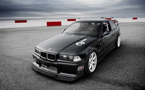 Picture tuning, bmw, BMW, coupe, 3 series, a three-pointer
