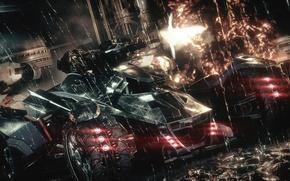 Picture City, Batman, Batmobile, Batman, Arkham Knight