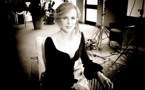 Picture Nicole Kidman, American actress, Nicole Kidman, Australian, three-time Academy award winner Golden globe, the winner …
